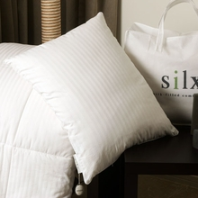 Silk-Filled Boudoir Pillow