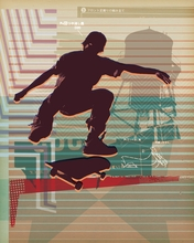 Skate Heist Original Canvas Wall Art