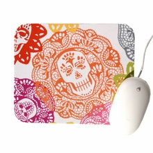 Skulls and Lace Mouse Pad