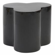 Sloan Stool in High Gloss Black