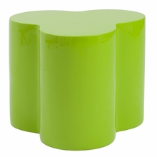 Sloan Stool in High Gloss Green