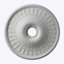 Small Hillspire Ceiling Medallion in White