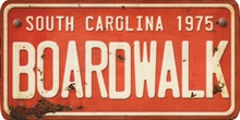 South Carolina Custom License Plate Art