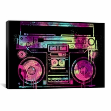 Speakerbox Canvas Wall Art