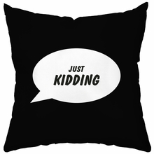 Speech Bubbles Personalized Throw Pillow Cover