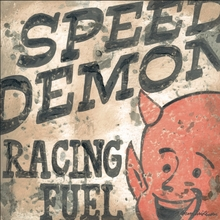 Speed Demon Racing Fuel Canvas Wall Art