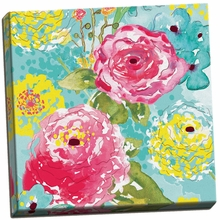 Spring Fling Medley II Canvas Wall Art