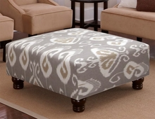 Square Cocktail Upholstered Ottoman