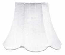 Squash Scallop Small Shade in White
