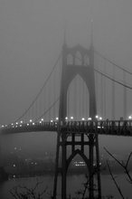 St. Johns Bridge Fog Wall Art