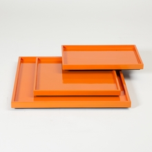 Stack Plateaus in Orange