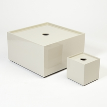 Stack Table Box in Light Grey