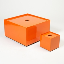 Stack Table Box in Orange