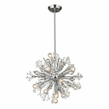 Starburst Chandelier In Polished Chrome