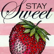 Stay Sweet Canvas Art
