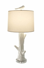 Stephanie Faux Wood Table Lamp