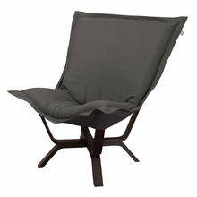 Sterling Charcoal Milan Puff Chair