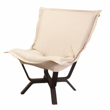 Sterling Sand Milan Puff Chair