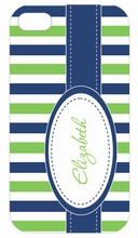Stitches and Stripes iPhone Case