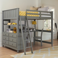 Stone Beach House Adair Loft Bed