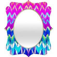 Summer Dreaming Quatrefoil Mirror