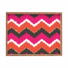 Summer Tango Chevron Rectangle Tray
