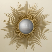Sunburst Mirror in Gold