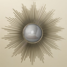 Sunburst Mirror in Nickel