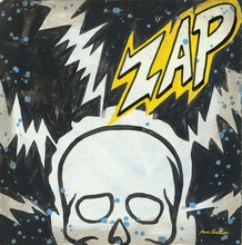Superhero Zap Canvas Wall Art