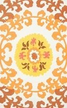 Suzani Gold Outdoor Rug