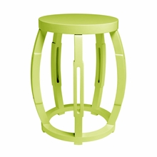 Taboret Stool or Side Table - Green