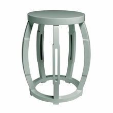 Taboret Stool or Side Table - Light Blue