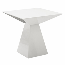 Tad Side Table in White