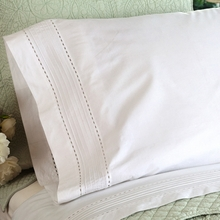 Classic Pintuck Cotton Sheet Set