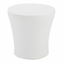Takis Stool in White