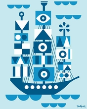 Tall Ship Canvas Wall Art