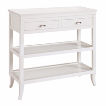 Tamara Hall Table in White