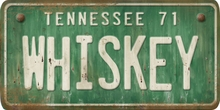 Tennessee Custom License Plate Art