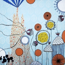 The Bubble Garden Canvas Wall Art
