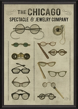The Chicago Spectacle and Jewelry Company Framed Wall Art
