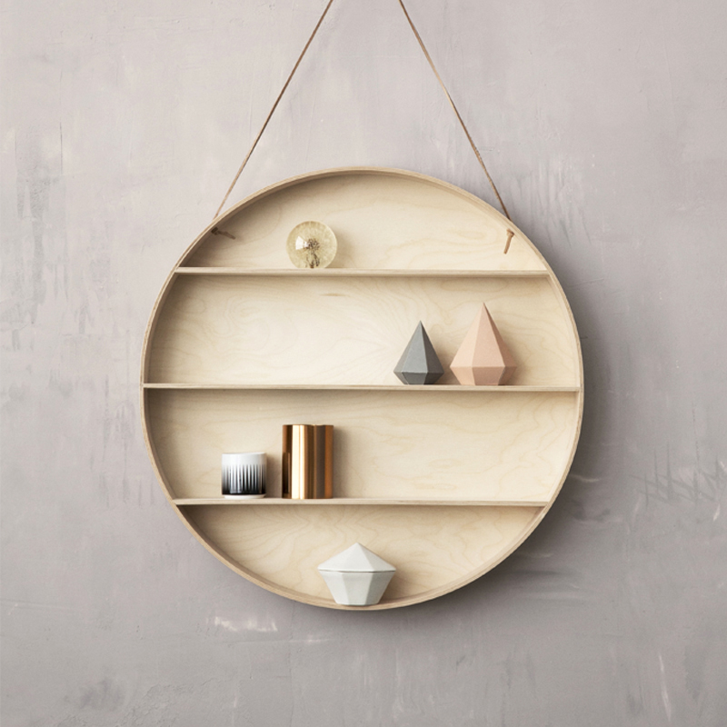 The Round Dorm Hanging Shelf