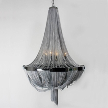 The Scarlett Steel Chandelier