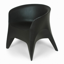 The Tuxedo Outdoor Chair in Black