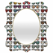 The Way I See It Quatrefoil Mirror