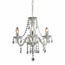 Theatre Clear Mini Chandelier