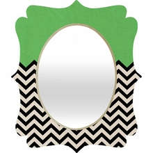 This Way Quatrefoil Mirror