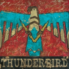 Thunderbird Canvas Wall Art