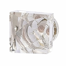 On Sale Tiffany Crystal Square Faceted Knob