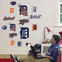 Tigers Logo Wall Decals