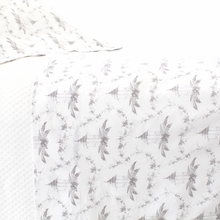 Tiki Toile Grey Sheet Set